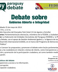 Copia de InvitaciónPyDebate-FEDEM